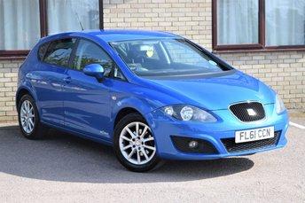 2011 SEAT LEON 1.6 CR TDI SE COPA 5d 103 BHP £2990.00