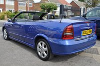USED 2003 03 VAUXHALL ASTRA 1.8 COUPE CONVERTIBLE 16V 2d 125 BHP