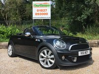 USED 2012 62 MINI ROADSTER 1.6 COOPER S 2dr Parking Sensors, FMSH, Cruise