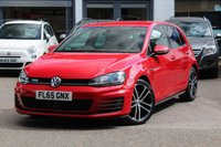 USED 2015 65 VOLKSWAGEN GOLF MK7 GTD 2.0 TDI 184ps DSG 5 DOOR AUTOMATIC SAT-NAV * XENONS * DAB * HEATED SEATS * BLUETOOTH * F&R PARK AID