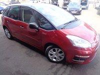 2012 CITROEN C4 PICASSO 1.6 PLATINUM EGS E-HDI 5d AUTO 110 BHP £5995.00