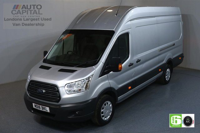 2018 18 FORD TRANSIT 2.0 350 TREND L4 H3 JUMBO 129 BHP RWD EURO 6 ENGINE  AIR CON, FRONT-REAR PARKING SENSORS
