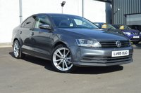 USED 2015 65 VOLKSWAGEN JETTA 2.0 SE TDI BLUEMOTION TECHNOLOGY DSG 4d AUTO 148 BHP