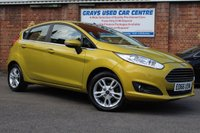 USED 2016 66 FORD FIESTA 1.2 ZETEC 5d 81 BHP 1 OWNER * LOW MILEAGE *