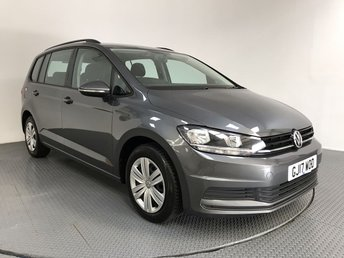 2017 VOLKSWAGEN TOURAN 1.6 S TDI BLUEMOTION TECHNOLOGY DSG 5d AUTO 114 BHP £15000.00