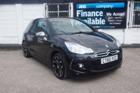 USED 2010 60 CITROEN DS3 1.6 HDI BLACK AND WHITE 3d 90 BHP 9 Service Stamps, 2 Owners, Alloys, Privacy glass, AUX