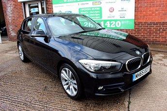 2016 BMW 1 SERIES 1.5 116D SPORT 5d 114 BHP £10799.00
