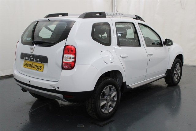 DACIA DUSTER at Stebbings