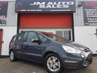 USED 2012 12 FORD S-MAX 1.6 ZETEC TDCI S/S 5d 115 BHP