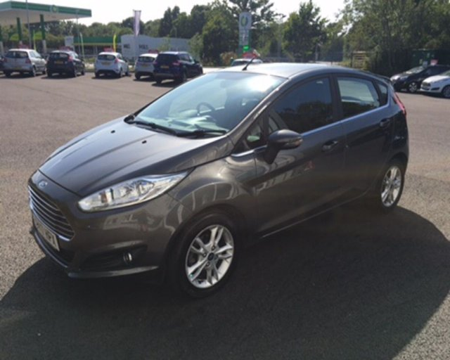 2017 17 FORD FIESTA 1.0 ZETEC ECOBOOST AUTOMATIC (100PS)