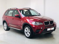 USED 2011 61 BMW X5 3.0 XDRIVE 30D SE 5d 241 BHP RARE VERMILLION RED WITH BEAUTIFUL CREAM LEATHER