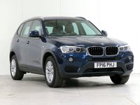 USED 2016 16 BMW X3 2.0 XDRIVE20D SE 5d AUTO 188 BHP [£4,020 OPTIONS] PRONAV XENON THROUGH-LOAD FBSH...