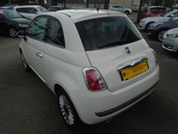 USED 2012 12 FIAT 500 1.2 LOUNGE 3d - PAN ROOF + ALLOYS