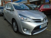 USED 2016 16 TOYOTA VERSO 1.6 VALVEMATIC ICON 5d 131 BHP ULEZ EXEMPT 1 OWNER, 7 SEATS