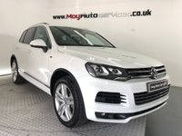 USED 2014 14 VOLKSWAGEN TOUAREG 3.0 V6 R-LINE TDI BLUEMOTION TECHNOLOGY 5d AUTO 242 BHP *PAN ROOF*