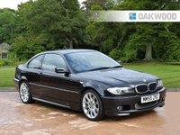 2005 BMW 3 SERIES 2.5 325CI M SPORT 2d AUTO 190 BHP £3795.00