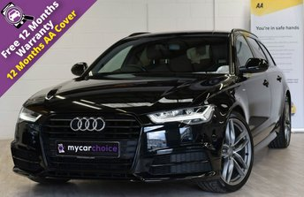 2015 AUDI A6 2.0 AVANT TDI ULTRA BLACK EDITION 5d AUTO 188 BHP £17650.00