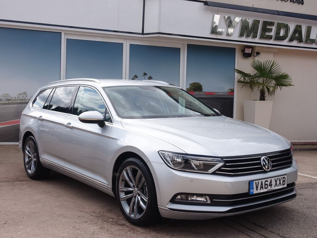 USED 2015 64 VOLKSWAGEN PASSAT 2.0 GT TDI BLUEMOTION TECHNOLOGY 5d 148 BHP