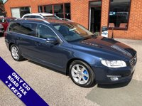 """USED 2014 64 VOLVO V70 2.0 D3 SE LUX 5DOOR 136 BHP ONLY £30 Road Tax   :   DAB   :   Sat Nav   :   USB & AUX Sockets   :   Car Hotspot / WiFi      Cruise Control   :   Phone Bluetooth Connectivity   :   Climate Control / Air Conditioning     Electric Driver Seat   :   Rear Parking Sensors   :   17"""" Alloy Wheels   :   Service History"""