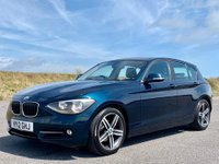 USED 2012 12 BMW 1 SERIES 2.0 118d Sport 5dr MEDIA PACK! BLUETOOTH! AUTO!