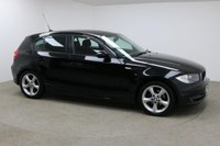 USED 2009 09 BMW 1 SERIES 2.0 116D SPORT 5d 114 BHP Finished in black is this stunning BMW 116D Sport + Bluetooth + CD/AUX + MULTI FUNCTION + £30 ROAD TAX