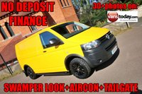 USED 2015 15 VOLKSWAGEN TRANSPORTER 2.0 T32 TDI 140 BHP 6 SPEED + TAILGATE + AIR CON  NO DEPOSIT FINANCE + AIR CON + TAILGATE