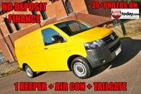 2015 VOLKSWAGEN TRANSPORTER 2.0 T32 TDI 140 BHP 6 SPEED + TAILGATE + AIR CON  £SOLD