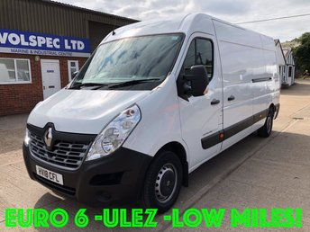 2018 RENAULT MASTER 2.3 LM35 BUSINESS ENERGY DCI 145 BHP [EURO 6] £12750.00
