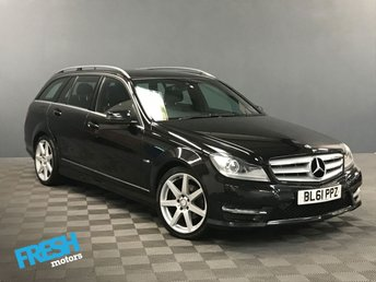 2012 MERCEDES-BENZ C CLASS 2.1 C220 CDI BLUEEFFICIENCY SPORT 5d AUTO  £8885.00