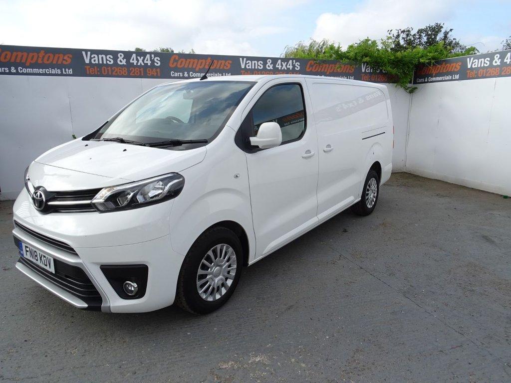 2018 Toyota Proace L2 Comfort £13,750