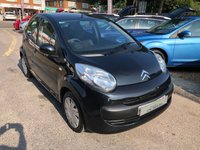 USED 2009 58 CITROEN C1 1.0 RHYTHM 5d 68 BHP IDEAL FIRST CAR, LOW RUNNING COSTS, SUPPLIED WITH A NEW MOT