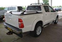 USED 2013 13 TOYOTA HI-LUX 3.0 INVINCIBLE 4X4 D-4D DCB 1d AUTO 169 BHP *** NO VAT ***