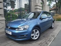 USED 2016 16 VOLKSWAGEN GOLF 1.6 MATCH EDITION TDI BMT DSG 5d AUTO 109 BHP ****FINANCE ARRANGED****PART EXCHANGE WELCOME***1 OWNER*£20 TAX*VW SH*NAV*BTOOTH*ADAPTIVE CRUISE*AIRCON