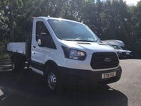 USED 2018 18 FORD TRANSIT 2.0 350 L2 C/C DRW 1d 129 BHP All Vehicles with minimum 6 months Warranty, Van Ninja Health Check and cannot be beaten on price!