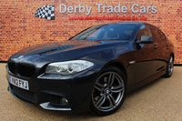 2012 BMW 5 SERIES 3.0 530D M SPORT 4d AUTO 255 BHP £11990.00