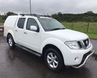 USED 2011 11 NISSAN NAVARA 2.5 DCI TEKNA 4X4 NO VAT 4dr PICK UP  188 BHP 6 MONTHS PARTS+ LABOUR WARRANTY+AA COVER