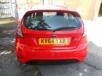 USED 2014 64 FORD FIESTA 1.2 STUDIO 3d 59 BHP