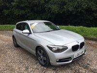 2013 BMW 1 SERIES 2.0 116D SPORT 3d 114 BHP £7985.00
