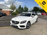 USED 2017 67 MERCEDES-BENZ C CLASS 2.0 C 200 AMG LINE 2d AUTO 181 BHP
