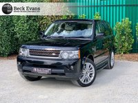 USED 2010 60 LAND ROVER RANGE ROVER SPORT 3.0 TDV6 HSE 5d 245 BHP CREAM LEATHER