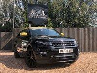 2013 LAND ROVER RANGE ROVER EVOQUE 2.2 SD4 SPECIAL EDITION 3dr AUTO  £17699.00