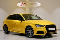 USED 2018 68 AUDI S3 2.0 S3 SPORTBACK TFSI QUATTRO BLACK EDITION 5d AUTO 306 BHP VIRTUAL COCKPIT/BANG & OLUFSEN