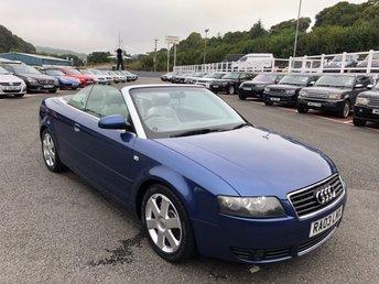 2003 AUDI A4 1.8 T SPORT 2d 161 BHP £3250.00