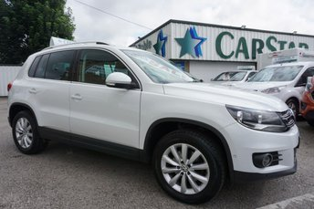 2014 VOLKSWAGEN TIGUAN 2.0 TDI 140 BHP MATCH BLUEMOTION TECHNOLOGY 4MOTION 5DR £10489.00