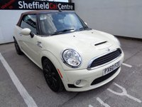 USED 2010 60 MINI CONVERTIBLE 1.6 COOPER S 2d 184 BHP £136 A MONTH COOPER S SPECIFICATION FULL LEATHER CONVERTIBLE PETROL PERFORMANCE SOUGHT AFTER COLOUR SUPPLIED WITH SERVICE