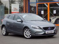 USED 2014 14 VOLVO V40 1.6 D2 SE LUX 5d 113 BHP **Leather + Rear Camera**