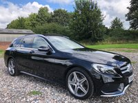 USED 2014 64 MERCEDES-BENZ C CLASS 2.1 C220 BLUETEC AMG LINE PREMIUM PLUS 5d AUTO 170 BHP