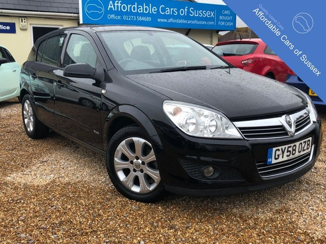 2008 58 VAUXHALL ASTRA 1.4 BREEZE PLUS 5d 90 BHP