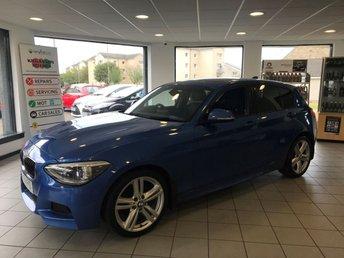 2013 BMW 1 SERIES 2.0 118D M SPORT 5d AUTO 141 BHP £10695.00