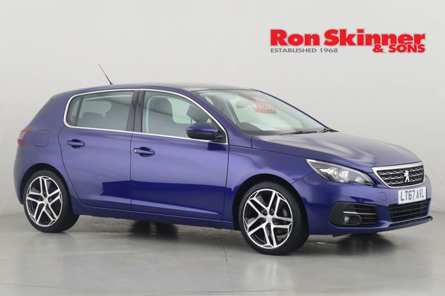View our 2017 67 PEUGEOT 308 1.2 PURETECH S/S ALLURE 5d 130 BHP